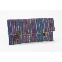 Clutch zip blau Yamuna