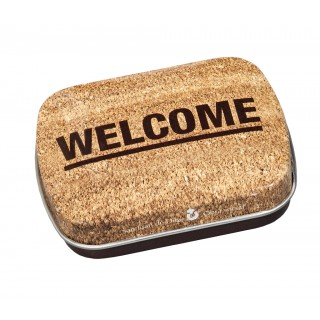 "Pack de 20 capsetes ""Welcome"""